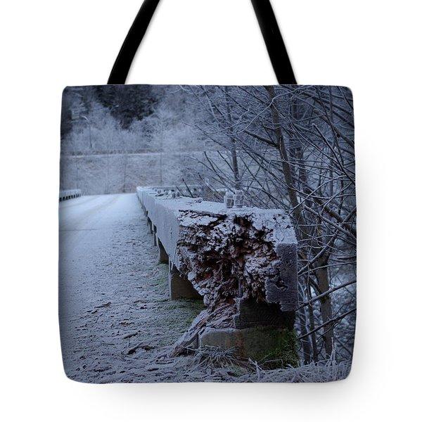 Ice Bridge Tote Bag