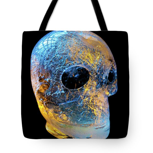 Ice Skull Tote Bag