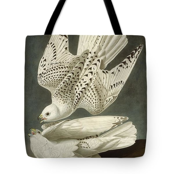 Iceland Or Jer Falcon Tote Bag by Rob Dreyer