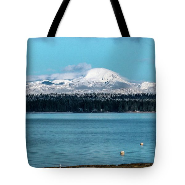 Icing On The Mountain Tote Bag