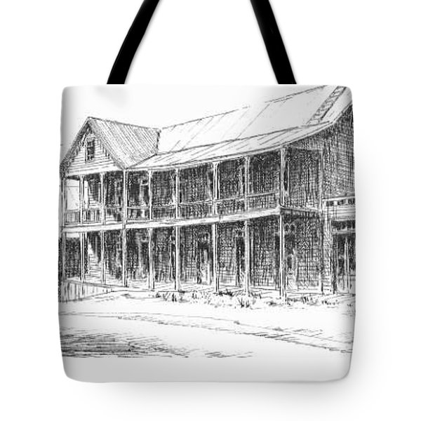 Idaho Hotel Silver City Ghost Town Idaho Tote Bag by Kevin Heaney