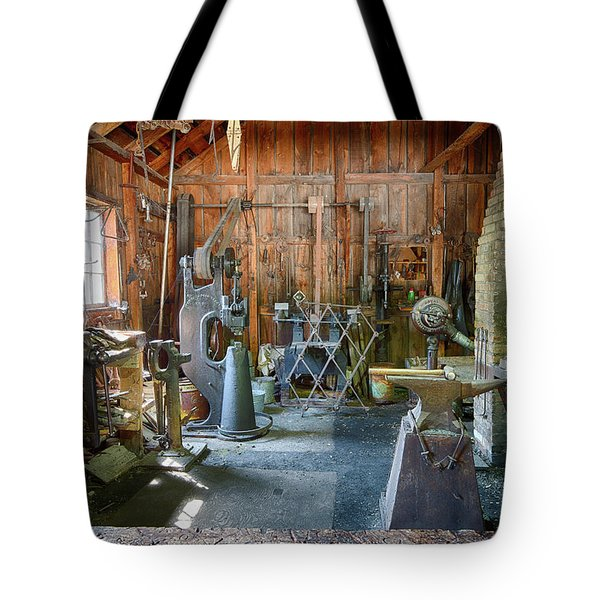 Tote Bag featuring the photograph Idle by David Buhler