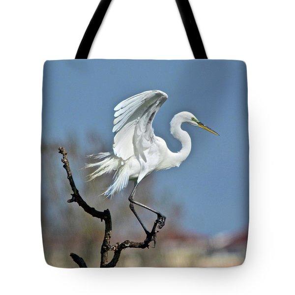 I'll Fly Away Tote Bag by Carol Bradley