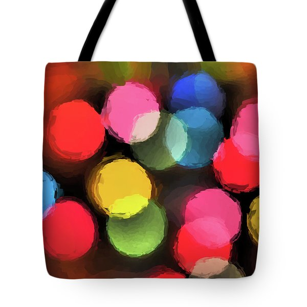 Tote Bag featuring the digital art Illumination by Tom Druin