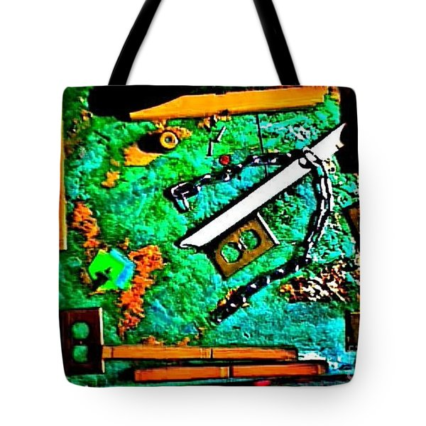 I'm Not The Same Person I Was At The Beginning Of This Sentence Tote Bag by Contemporary Luxury Fine Art