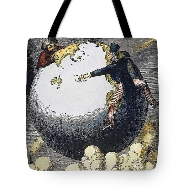 Imperialism Cartoon, 1876 Tote Bag by Granger