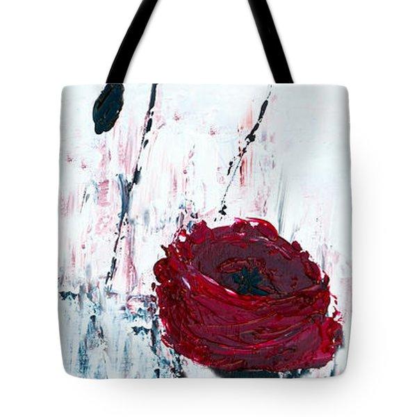 Impressionist Floral B8516 Tote Bag