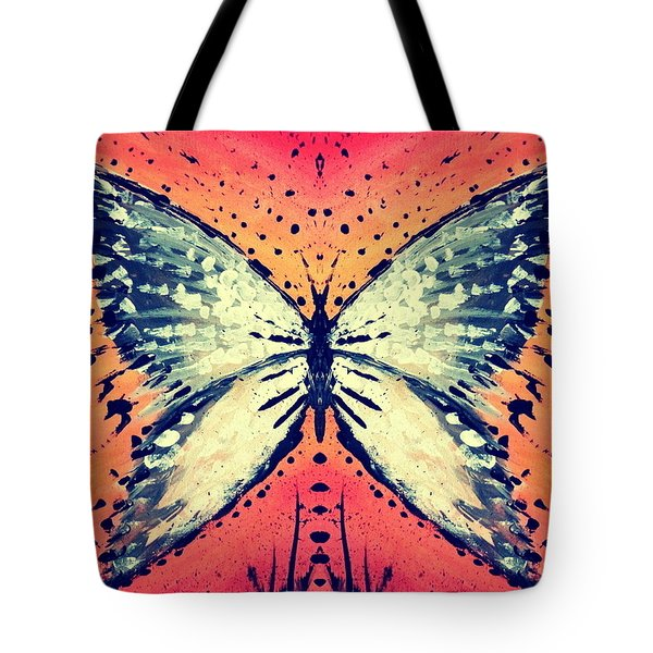 Tote Bag featuring the painting In Flight by 'REA' Gallery