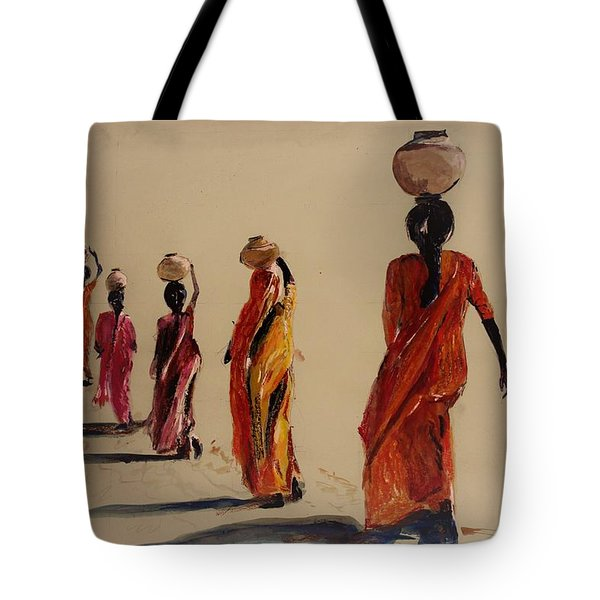 In Search Of Water. Tote Bag