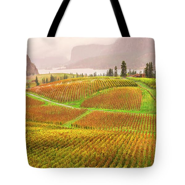 In The Early Morning Rain Tote Bag