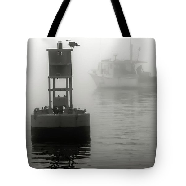 In The Midst Of A Fog Tote Bag by Richard Bean