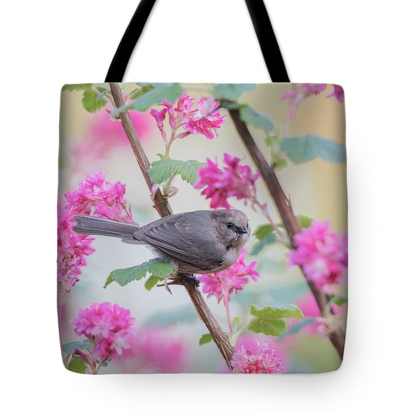 In The Pink Tote Bag by Angie Vogel