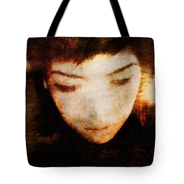 In Thoughts Tote Bag by Gun Legler
