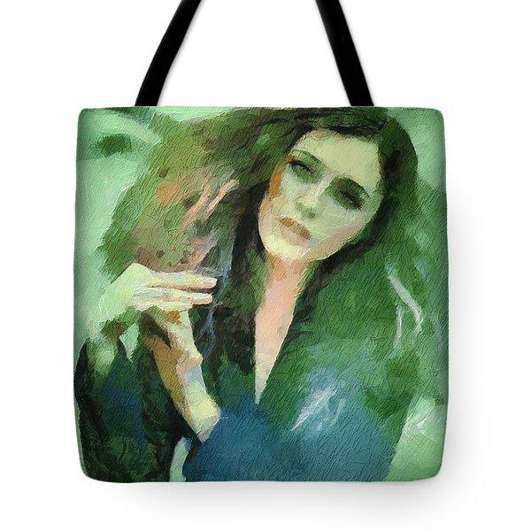 In Vain Tote Bag by Gun Legler