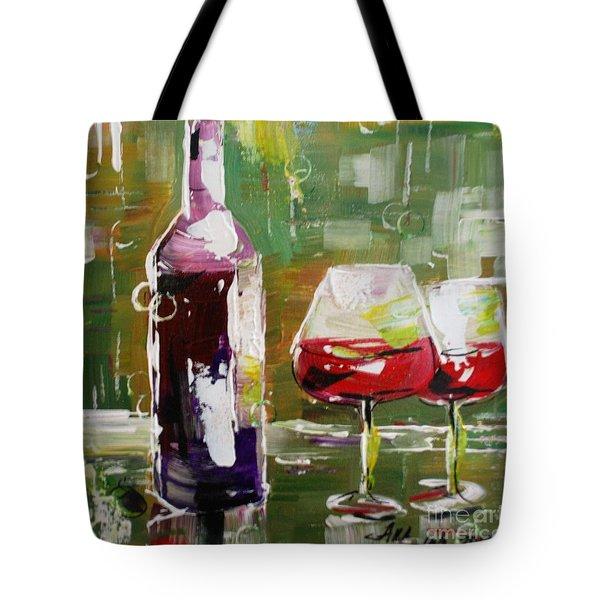 In Vino Veritas. Wine Collection Tote Bag