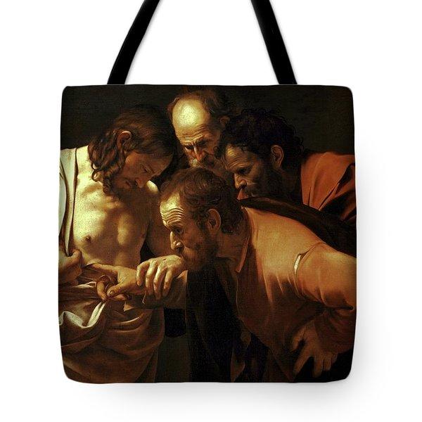 Incredulity Of Saint Thomas Tote Bag