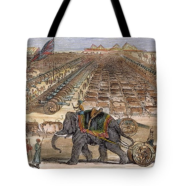 India: Sepoy Mutiny, 1857 Tote Bag by Granger