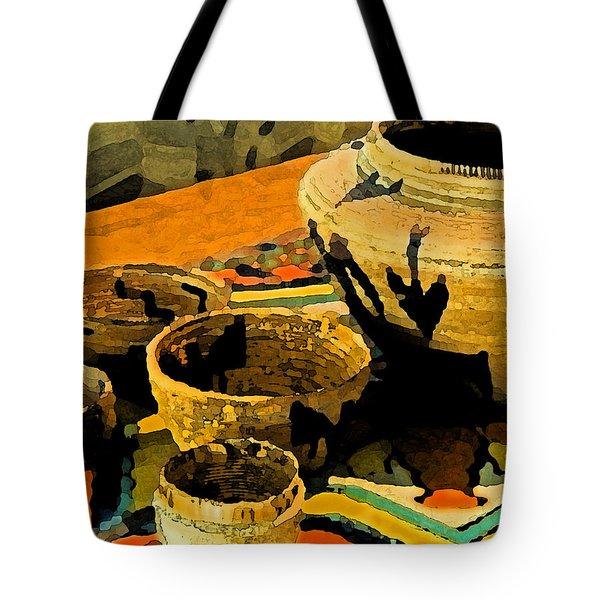 Indian Baskets 2 Tote Bag