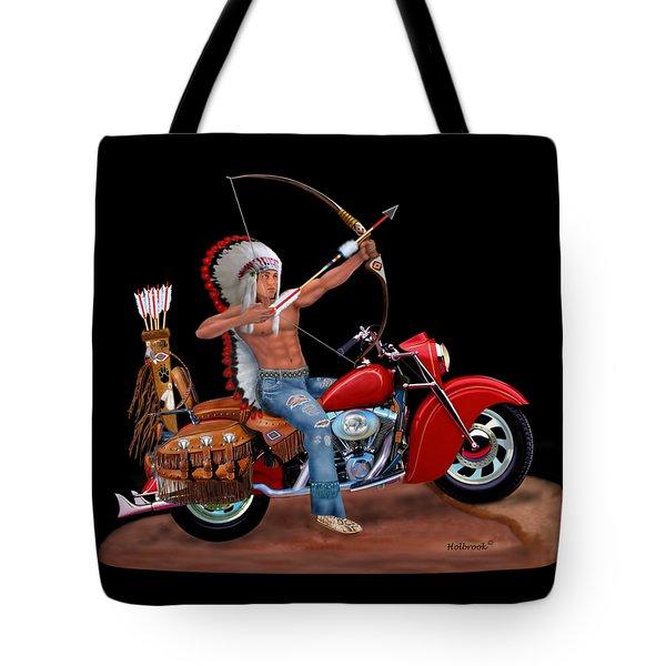 Indian Forever Tote Bag by Glenn Holbrook
