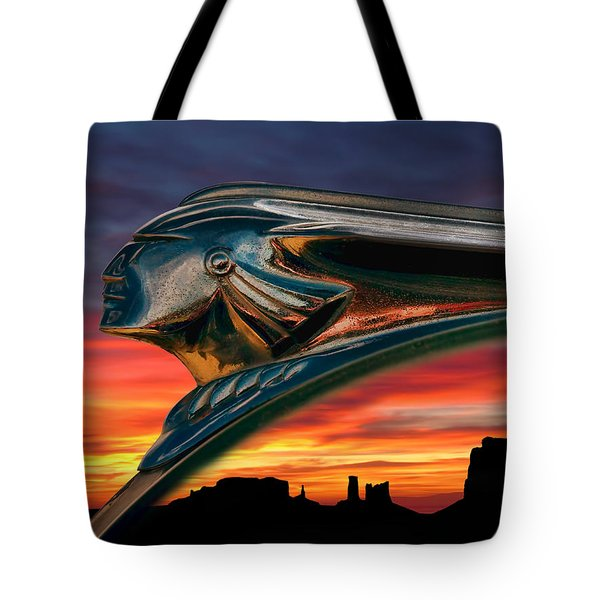Indian Rainbow Tote Bag by Douglas Pittman