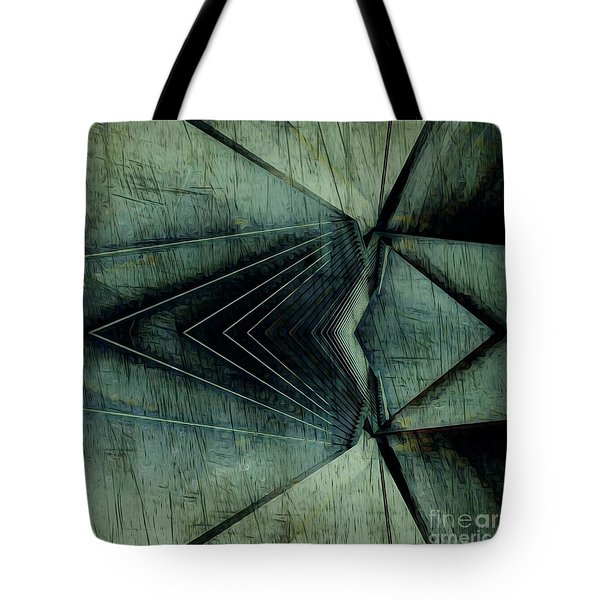 Industrial Bridge Grey Tote Bag