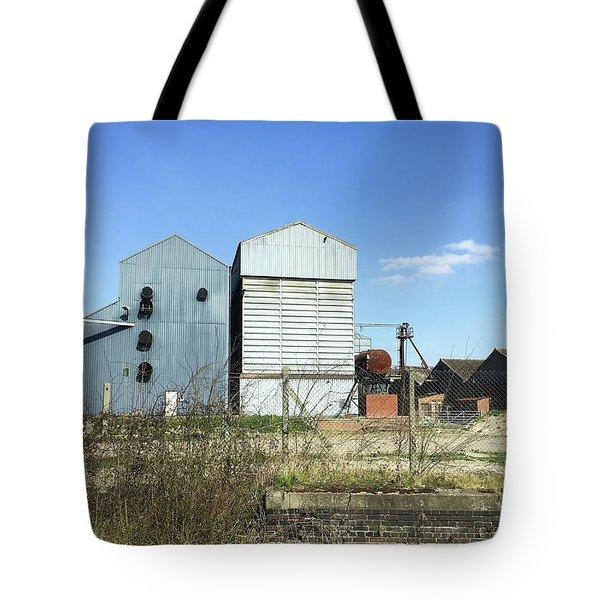 Industrial Buildings Tote Bag