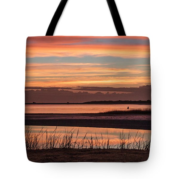 Inlet Watch Sunrise Tote Bag