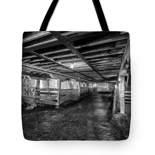 Inside The Barn Tote Bag