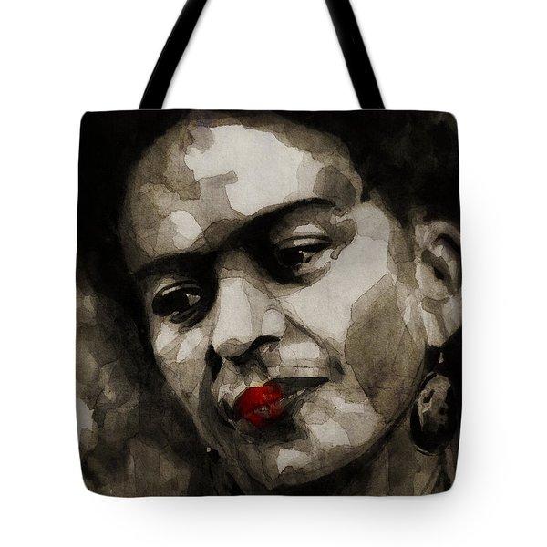 Inspiration - Frida Kahlo Tote Bag