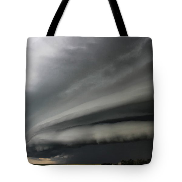 Intense Shelf Cloud Tote Bag