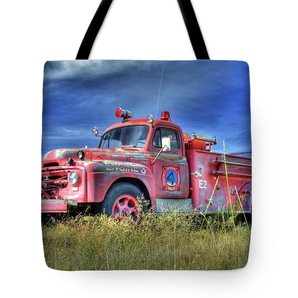 International Fire Truck 2 Tote Bag