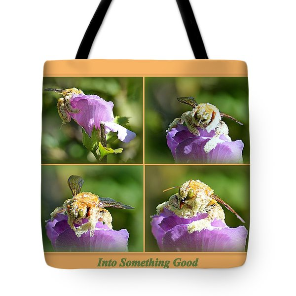 Tote Bag featuring the photograph Into Something Good by AJ Schibig