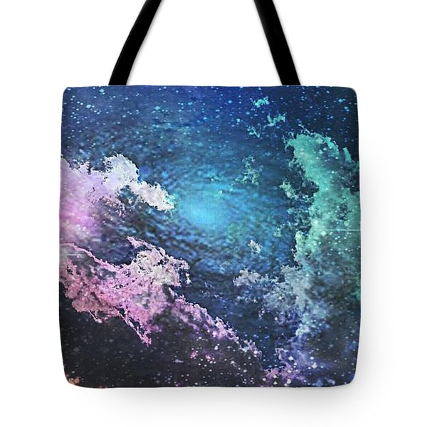 Into The Great Wide Open Tote Bag by Kimberly  W