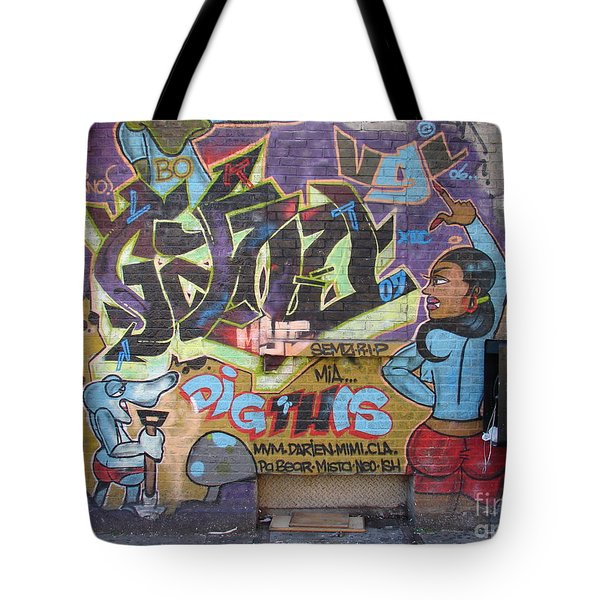 Inwood Graffiti  Tote Bag by Cole Thompson