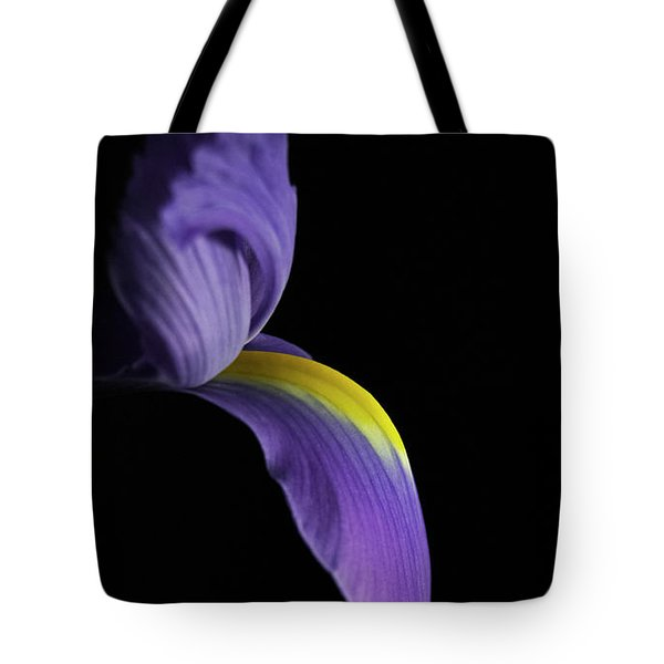Tote Bag featuring the photograph Iris by Elsa Marie Santoro