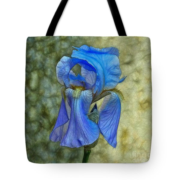 Iris Tote Bag by Suzanne Handel