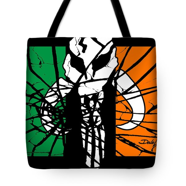 Irish Mandalorian Flag Tote Bag