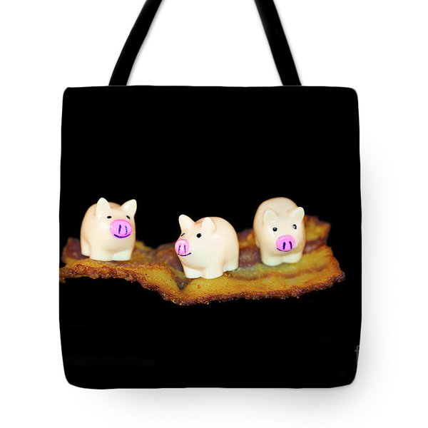 Ironic Pigs Tote Bag