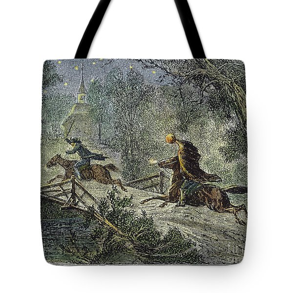 Irving: Sleepy Hollow Tote Bag by Granger
