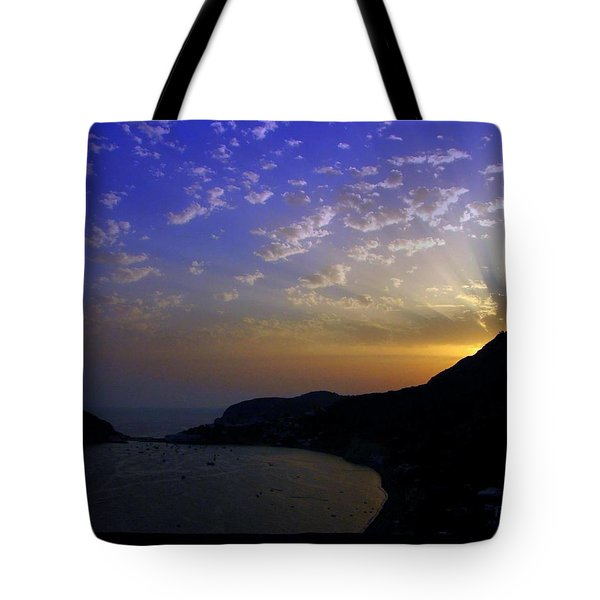 Tote Bag featuring the photograph Ischia Awakens by Patrick Witz