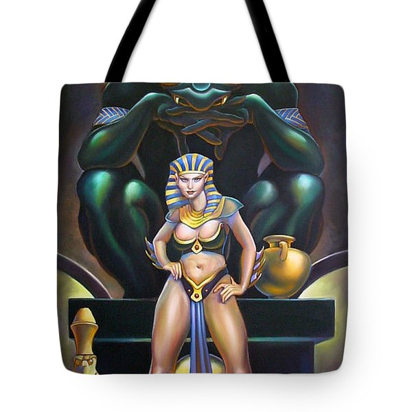 Isis And Osiris Tote Bag by Patrick Anthony Pierson