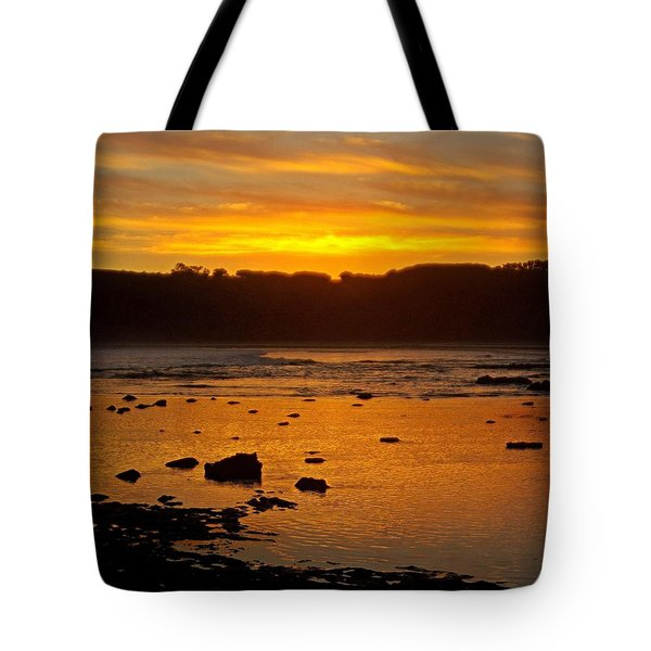 Island Sunset Tote Bag by Blair Stuart