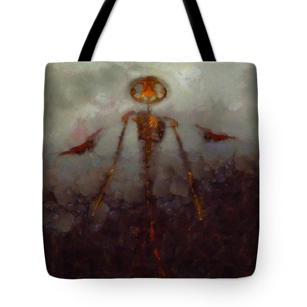 It Came From Hell Tote Bag