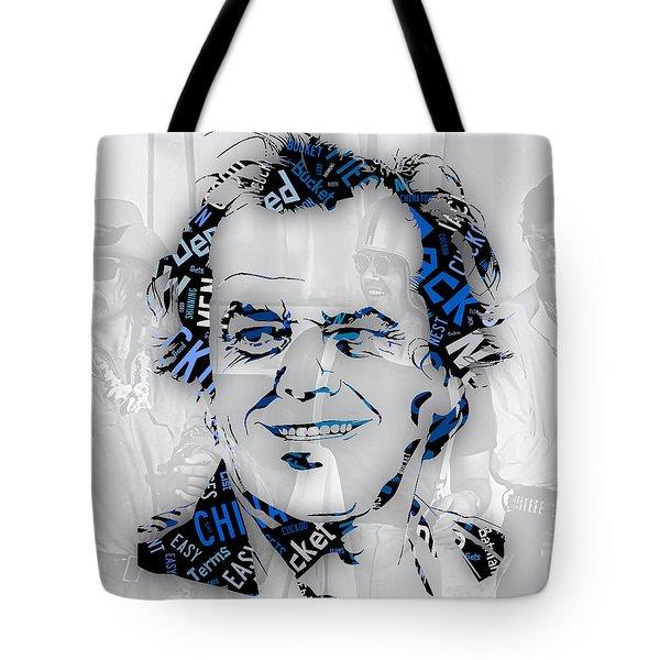 Jack Nicholson Movie Titles Tote Bag