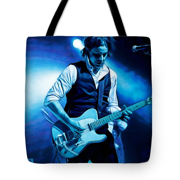 Jack White Collection Tote Bag by Marvin Blaine