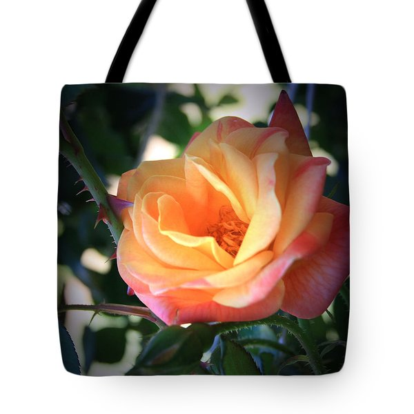 Jacob's Rose Tote Bag by Marna Edwards Flavell