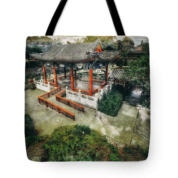 Tote Bag featuring the photograph Jade Garden by Wayne Sherriff