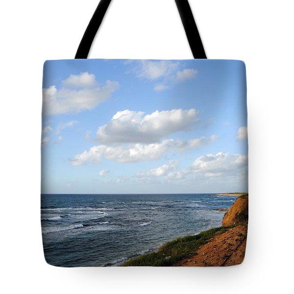 Jaffa Beach 5 Tote Bag