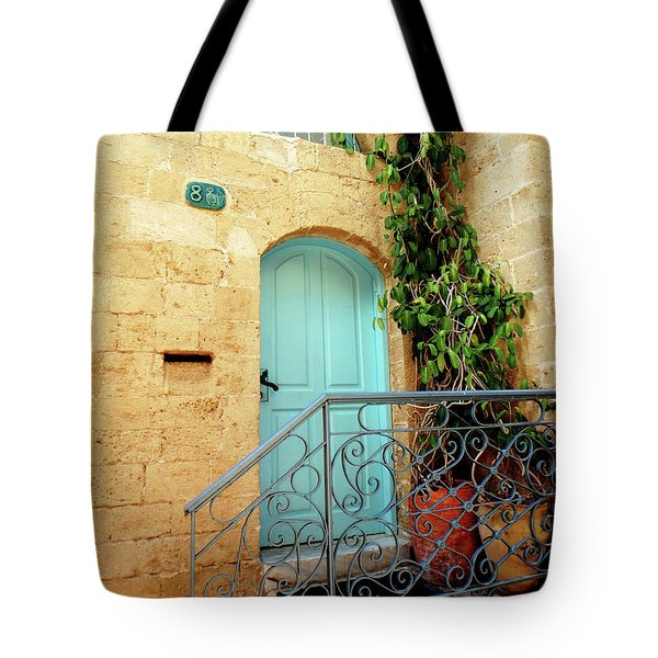 Jaffa-israel Tote Bag by Denise Moore
