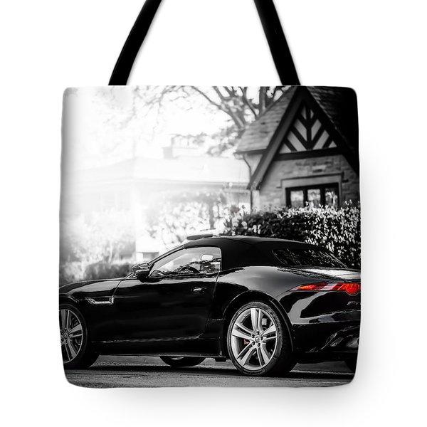 Jaguar F Type S  Tote Bag by Darek Szupina Photographer